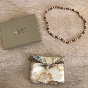 "Honora 18"" pearl necklace"